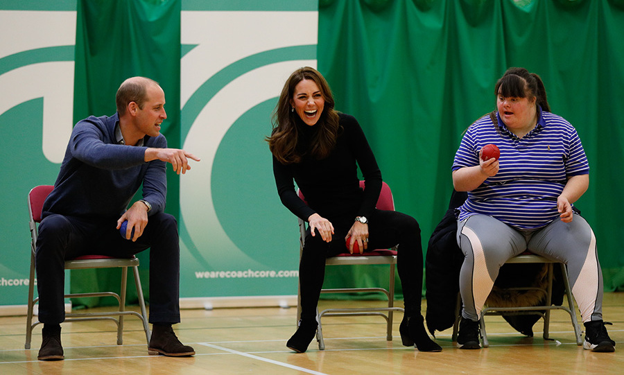Prince William had Kate in a fit of laughter!