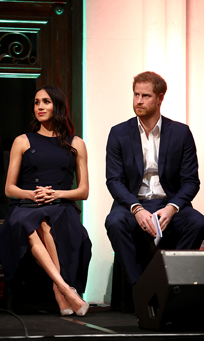 The couple looked completely at ease as their tour neared its last day.