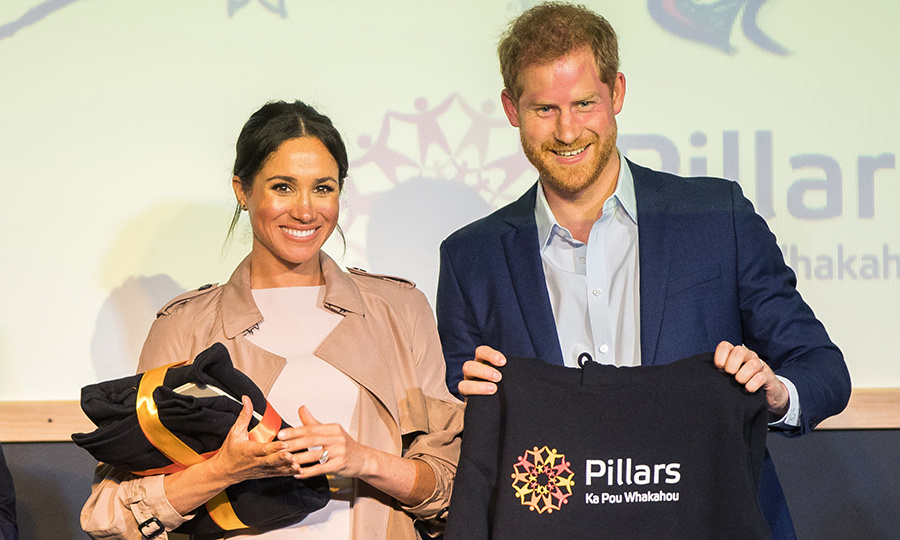 Prince Harry and Meghan received some Pillars merchandise!
