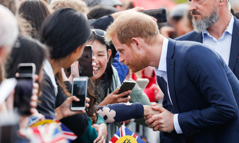 "Prince Harry shared a special moment with six-year-old Otia Nante, who had recently lost his mother. The duke stopped to talk with the young boy at the Viaduct Harbour in Auckland, NZ on Oct. 30, listening to his story and offering up his best advice, according to the <a href=""https://www.news.com.au/entertainment/celebrity-life/royals/royal-tour-day-15-harry-and-meghan-tour-new-zealand/news-story/3efff298cb3af85d6bbd8cb331b583df"" target=""_blank"">news.com.au</a>. ""Life will always be alright. You know that? I've made it to 34 years old, and life is great. I have a beautiful wife and a baby on the way. Your life is going to be sorted. Don't you worry about that,"" he said. He also broke the royal 'no selfie' rule to pose for a snap with Otia.