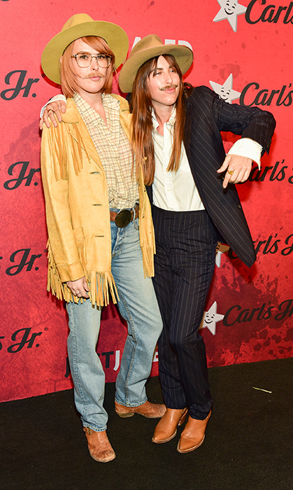 Scout and Rumer Willis