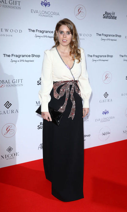 "<strong><a href=""/tags/0/princess-beatrice"">Princess Beatrice</a></strong> was the belle of the ball at the 2018 Global Gift Gala in London, where she stunned in an $8,000 <strong><a href=""/tags/0/gucci"">Gucci</a></strong>Gucci gown embellished with a sequin bow. 