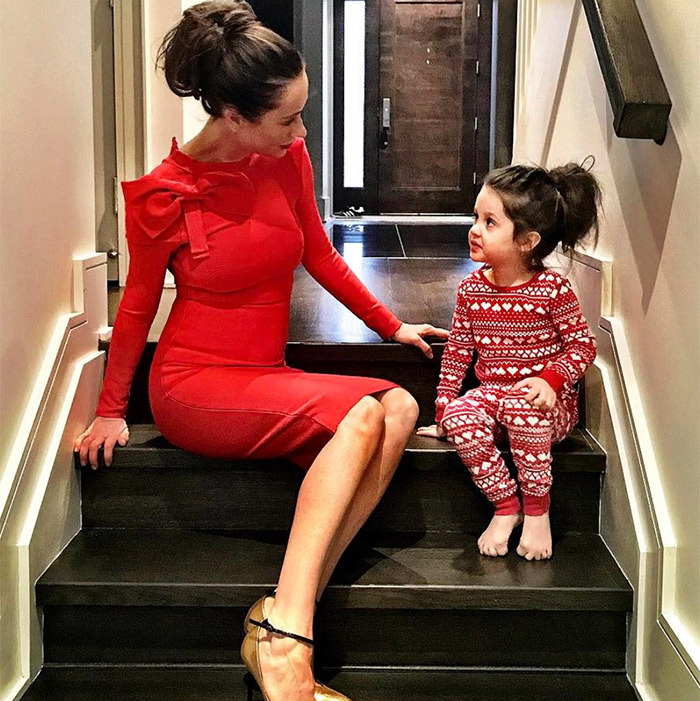 """Messy hair... don't care,"" and perfectly matched, to boot.