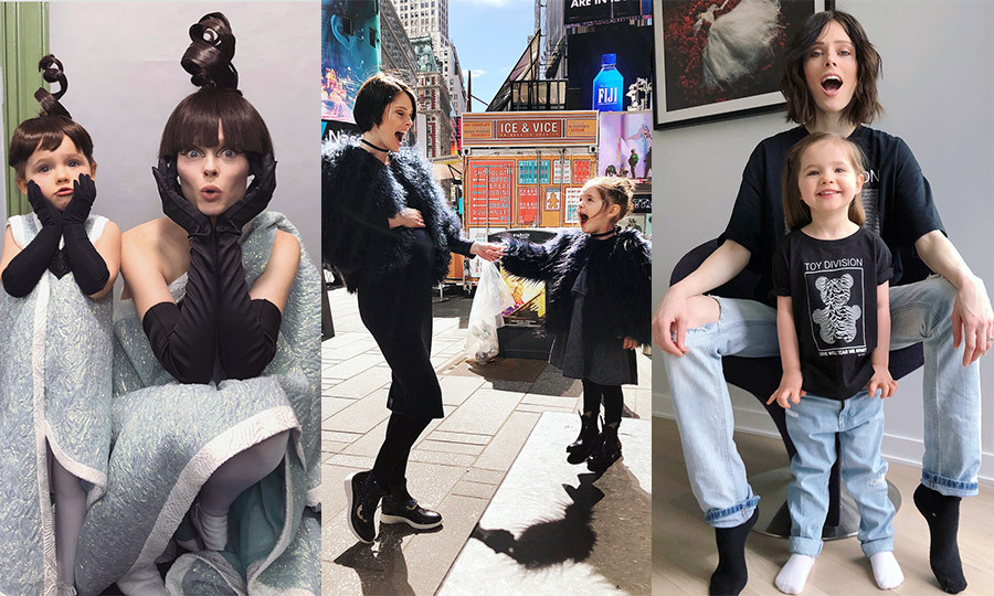 Coco Rocha's most adorable twinning moments with daughter Ioni Conran