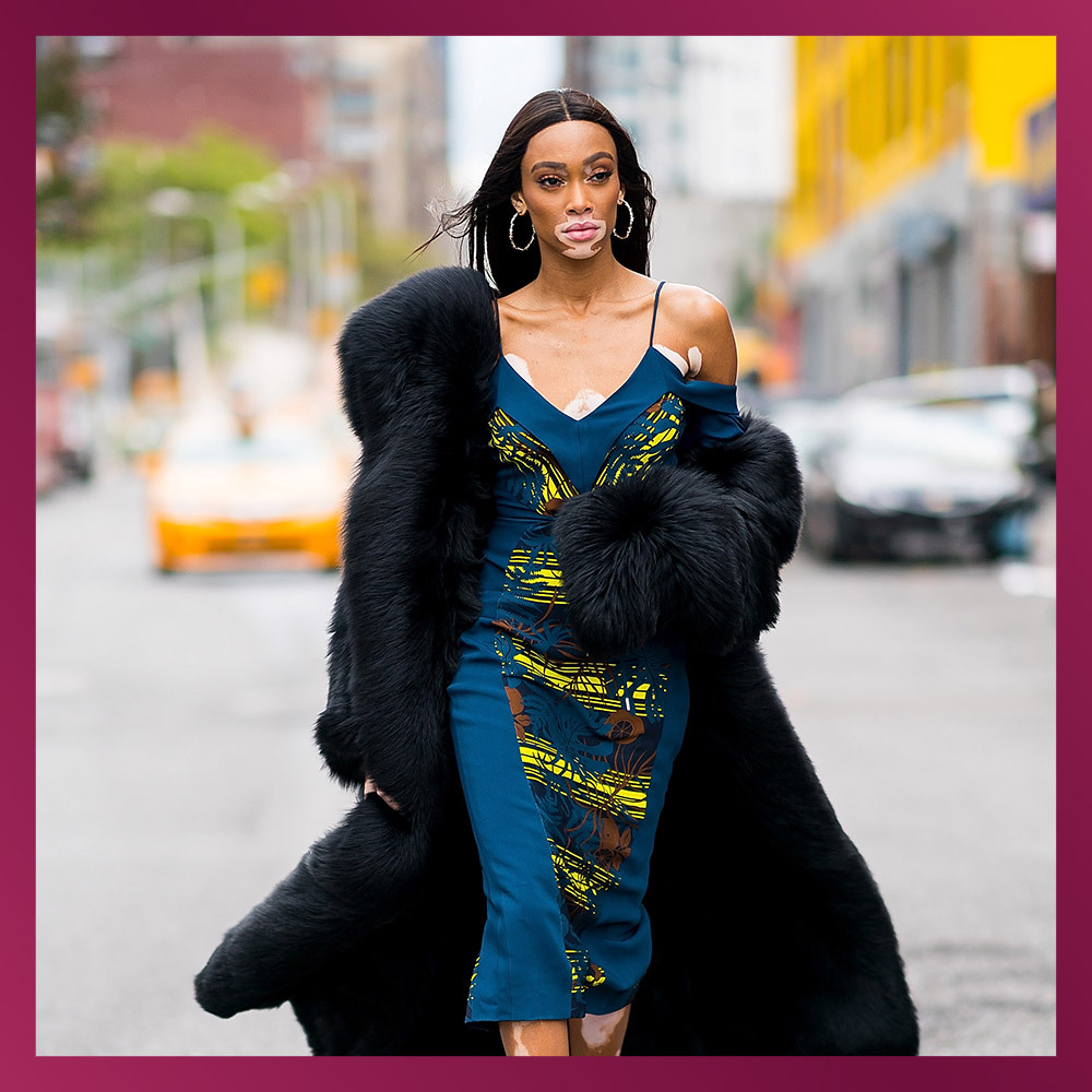 <h2>WINNIE HARLOW, Model</h2>