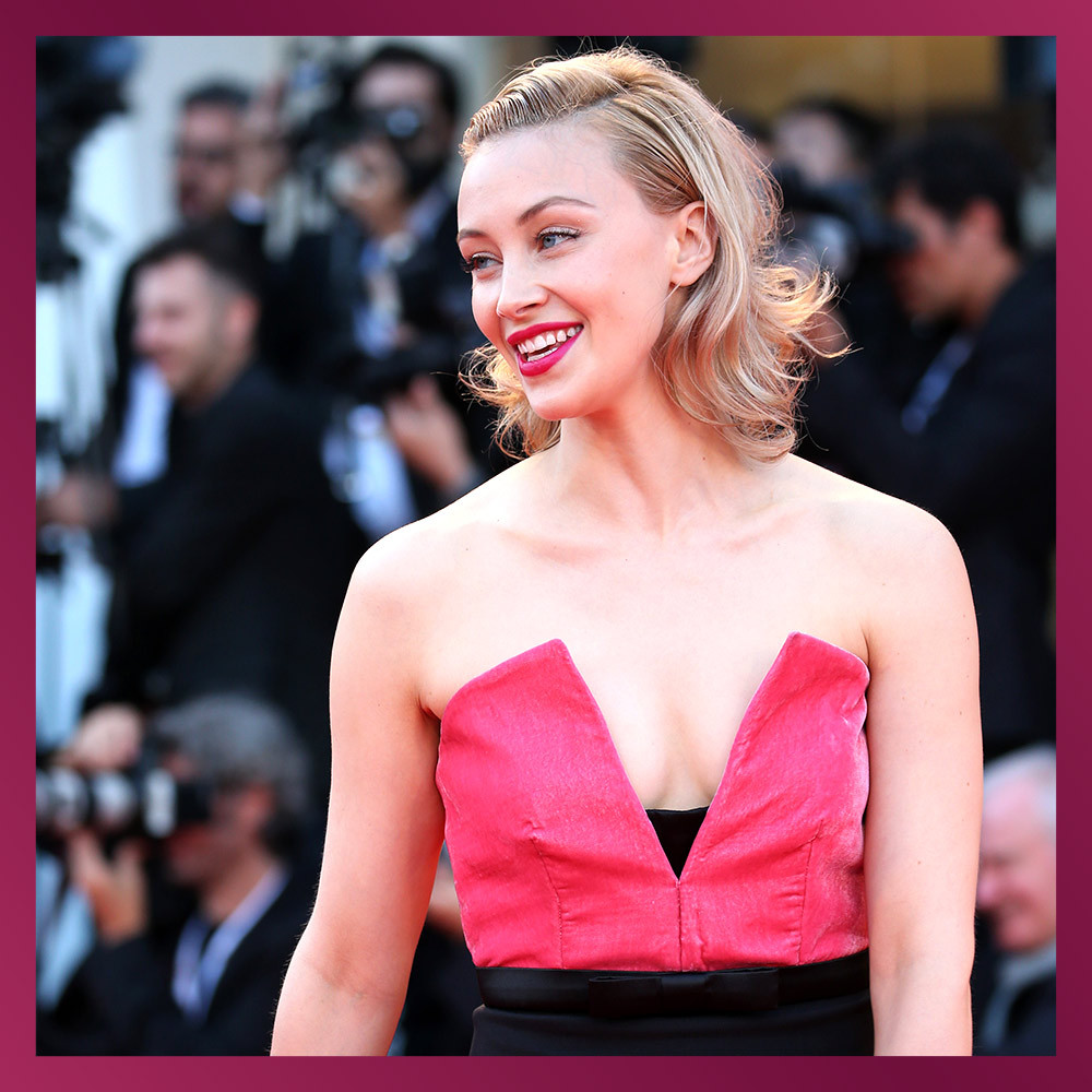 <h2>SARAH GADON, Actress</h2>