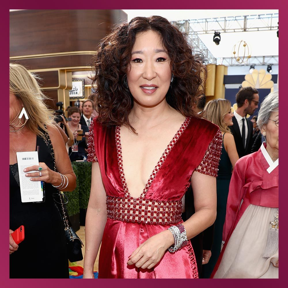 <h2>SANDRA OH, Actress</h2>