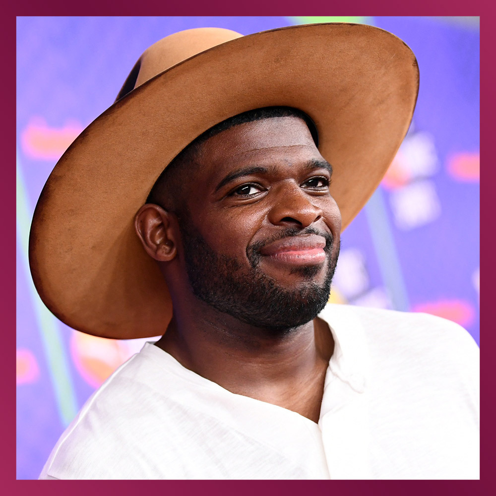 <h2>P.K. SUBBAN, Hockey player</h2>