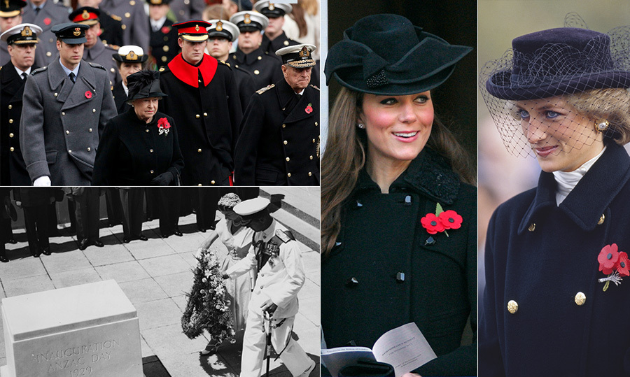 "Every year in London – and whenever they travel abroad – members of <a href=""https://ca.hellomagazine.com/tags/0/british-royals""><strong>the British Royal Family</strong></a> make sure to pay their respects to the fallen soldiers who fought for their country. Throughout the years, <a href=""https://ca.hellomagazine.com/tags/0/queen-elizabeth-ii""><strong>the Queen</strong></a>, <a href=""https://ca.hellomagazine.com/tags/0/prince-william""><strong>Prince William</strong></a>, <a href=""https://ca.hellomagazine.com/tags/0/prince-harry""><strong>Prince Harry</strong></a> and more have laid wreaths, sang hymns and paid visits to memorial sites across the world to honour and thank the victims.