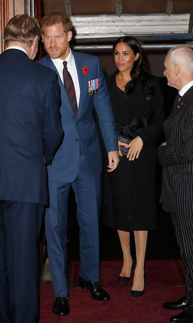 The Duke and Duchess of Sussex arrived together, still sporting a summer glow after all that sun in Australia, New Zealand, Fiji and the Kingdom of Tonga.