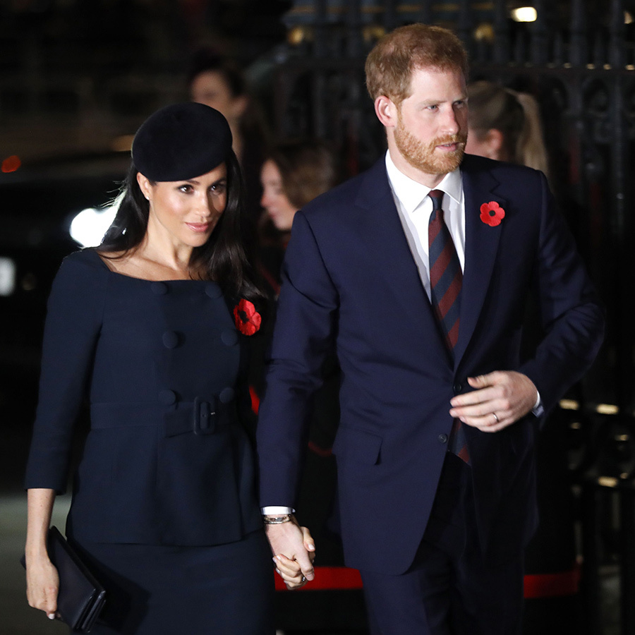 "It's been a busy weekend for the <a href=""/tags/0/british-royals/"">Royal Family</a> as they marked Remembrance Day with a series of events, which culminated in a Sunday evening (Nov. 11) service marking the Centenary of Armistice at Westminster Abbey. <a href=""queen-elizabeth-ii/"">The Queen</a> was joined by <a href=""prince-charles/"">Prince Charles</a> and <a href=""duchess-of-cornwall/"">Camilla</a>, <a href=""prince-william-and-kate/"">Prince William and Kate</a>, <a href=""prince-harry-and-meghan/"">Prince Harry and Meghan</a>, and more, all of whom dressed in dark shades and proudly paid tribute to fallen soldiers wearing poppies pinned to their lapels. The service was led by The Very Reverend Dr John Hall, Dean of Westminster and the Address was given by The Archbishop of Canterbury.