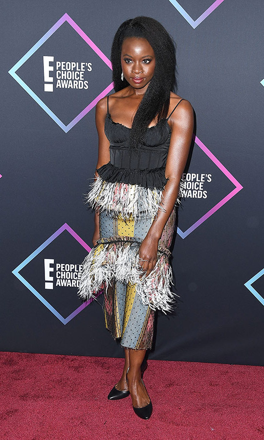 Danai Gurira in Brock Collection