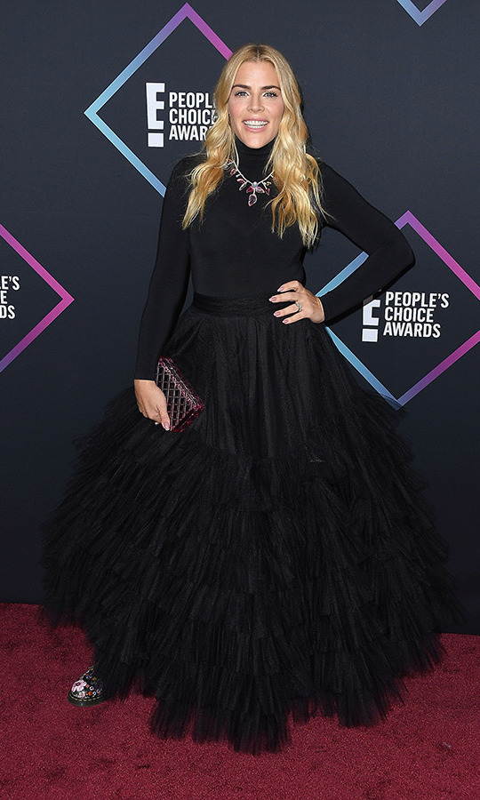 Busy Philipps in Christian Siriano
