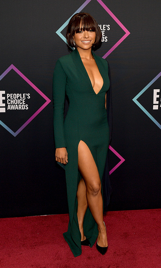 Kat Graham in Chalayan