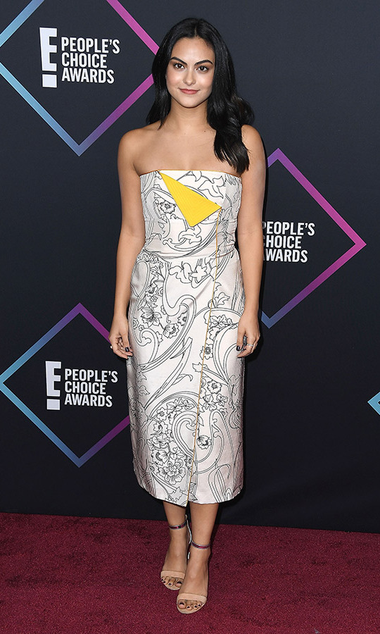 Camila Mendes in Etro