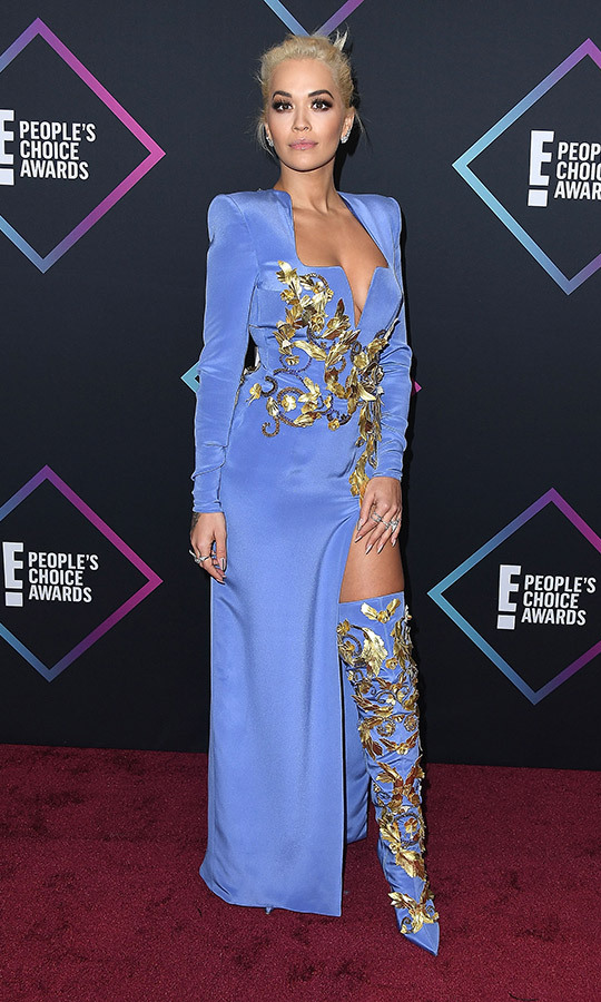Rita Ora in Versace