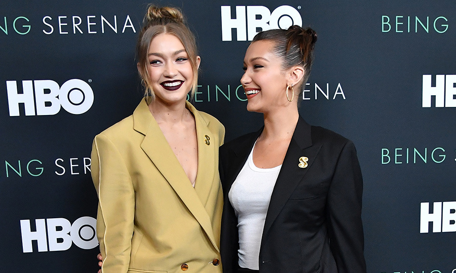 <h2>Gigi and Bella Hadid</h2>