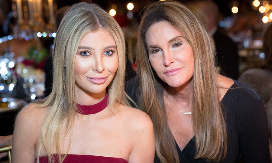 <h2>Sophia Hutchins and Caitlyn Jenner</h2>