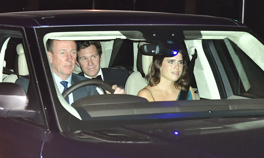 <h2>Princess Eugenie and Jack Brooksbank</h2>