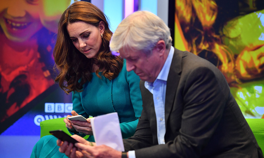 Kate and Tony Hall tested out the app on a pair of iPhones.