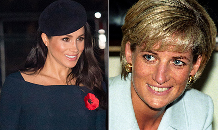 Princess Dianas Inspired Meghan Markles New Hair