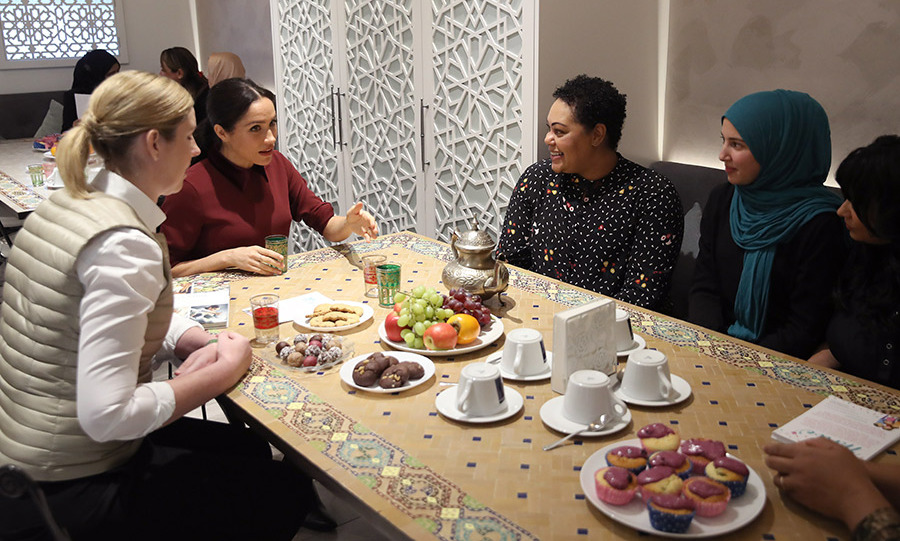 "According to <em><a href=""https://people.com/royals/meghan-markle-hug-grenfell-tower-community-kitchen-visit/"">People</a></em>, <em>Together: Our Community Cookbook</em> has sold more than 40,000 copies in the UK alone, which translates to a whopping $358,000 in the seven weeks since it went on sale. With this funding, the kitchen is now open seven days a week instead of just two.