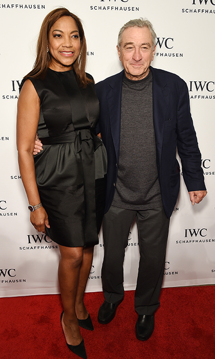 <h2>Robert de Niro and Grace Hightower</h2>