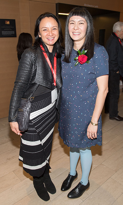 Michelle Kadarusman and Thea Lim