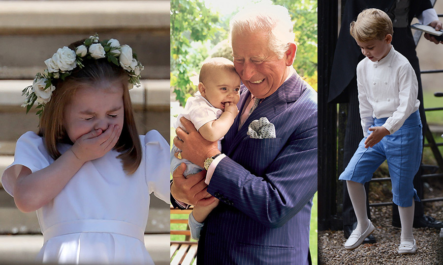 "It was a big year for the Cambridge clan, and we have the photos to prove it! <a href=""https://ca.hellomagazine.com/tags/0/prince-george""><strong>Prince George</strong></a> celebrated his milestone fifth birthday, <a href=""https://ca.hellomagazine.com/tags/0/princess-charlotte""><strong>Princess Charlotte</strong></a> became a big sister to <a href=""https://ca.hellomagazine.com/tags/0/prince-louis""><strong>Prince Louis</strong></a>, who was christened over the summer, and the newest addition to the family stole all of our hearts in the sweetest portraits with Grandpa <a href=""https://ca.hellomagazine.com/tags/0/prince-charles""><strong>Prince Charles</strong></a>. The elder Cambridge kids also adorably took to the aisle at two royal weddings, plus the nuptials of one of their mom Kate's closest friends, and stole the show while on the sidelines at polo and on the balcony during Trooping the Colour. 