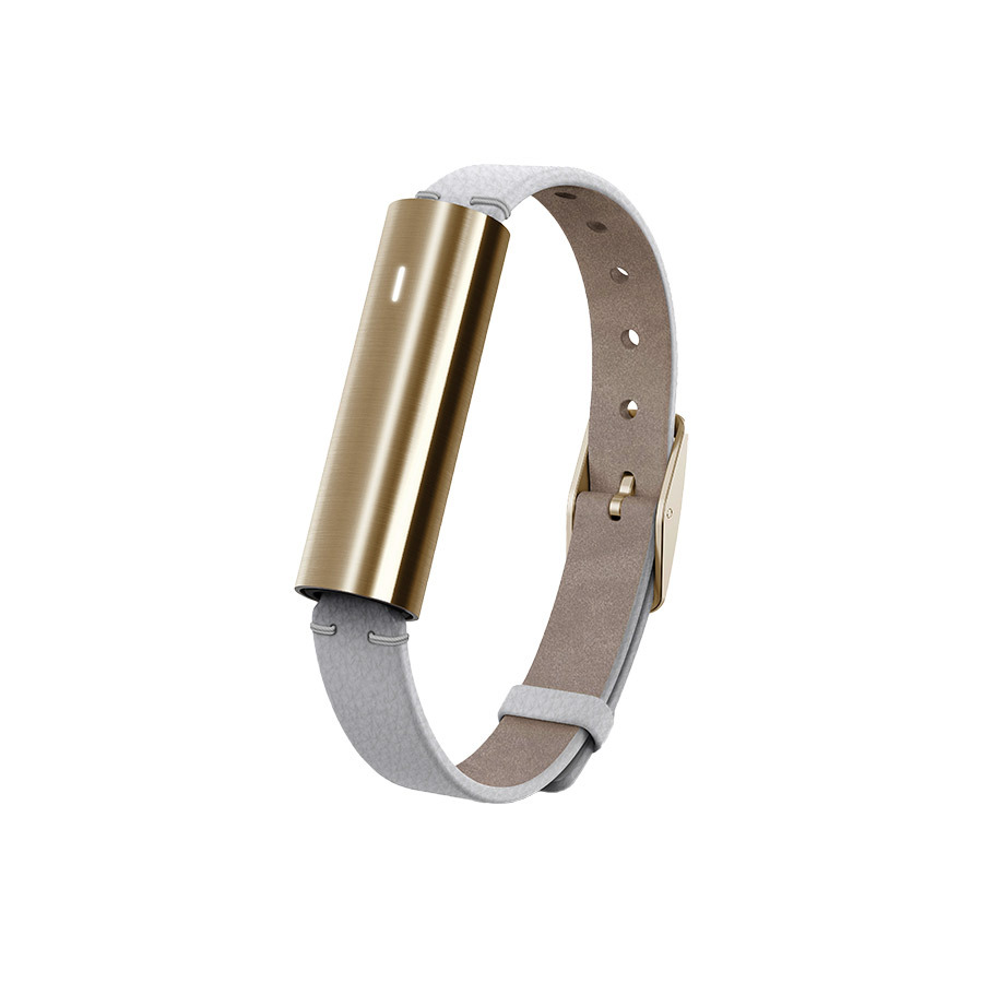 "Misfit Ray Goldtone Stainless Steel Fitness & Sleep Tracker, $160, <a href=""https://saksfifthavenue.com"" target=""_blank"">saksfifthavenue.com</a>"