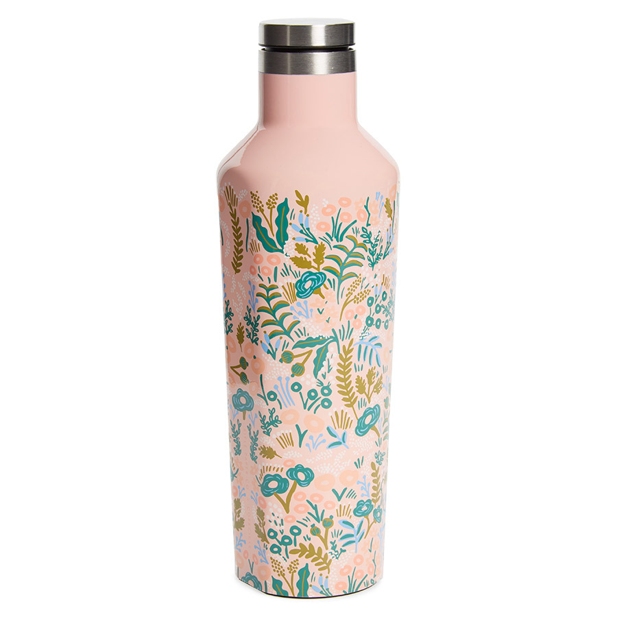 "Corkcicle x Rifle Paper Co. Tapestry Insulated 16-Ounce Stainless Steel Canteen, $48, <a href=""https://nordstrom.com/"" target=""_blank"">nordstrom.com</a>"