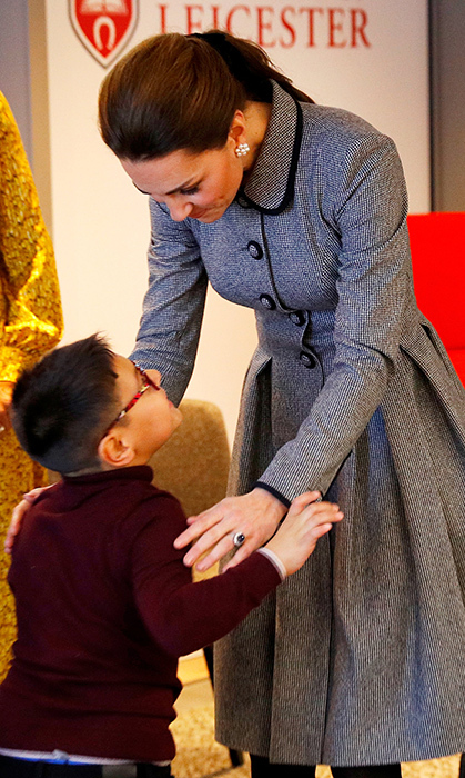 Duchess Kate has an obvious love for children!
