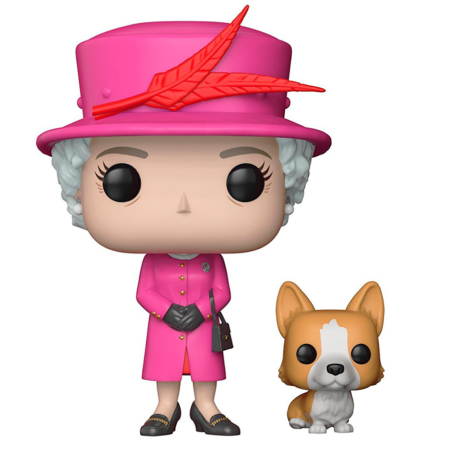 This adorable figurine of the Queen and her corgi suits royal lovers and pop-culture junkies, not to mention dog lovers!