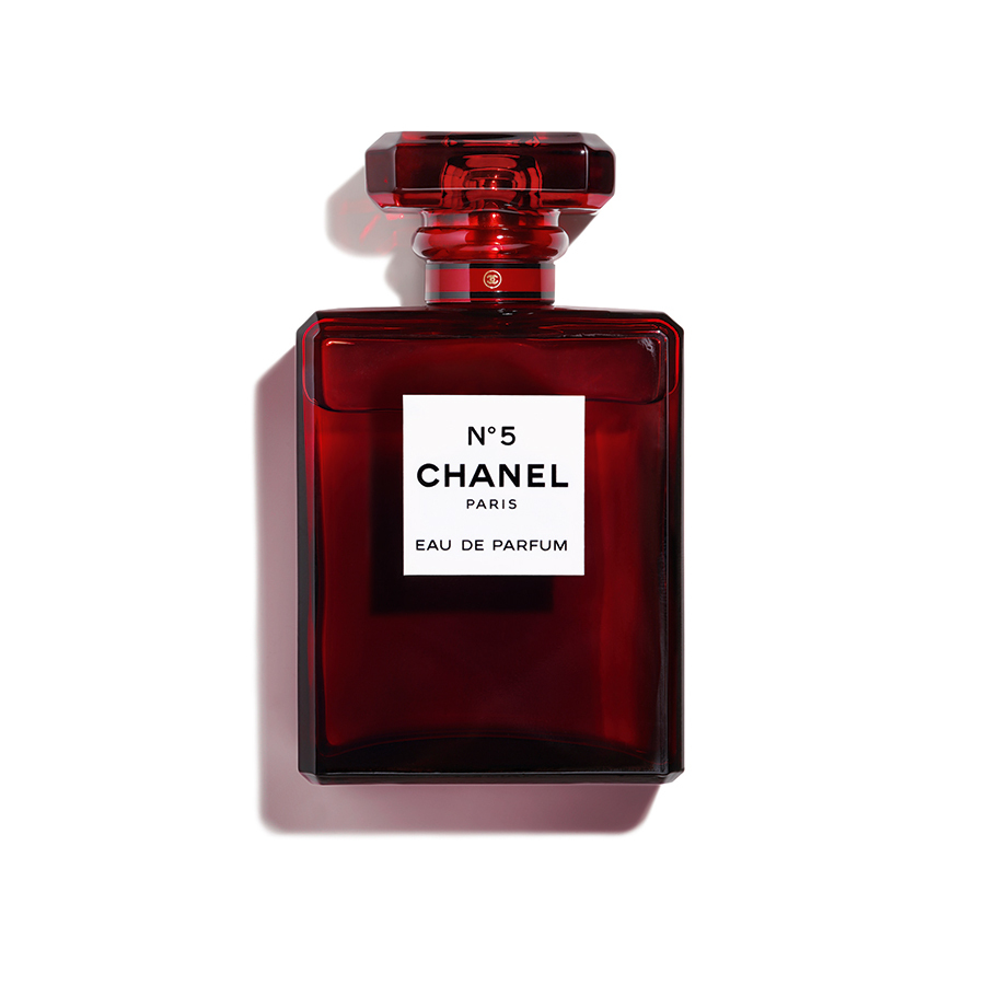 "Chanel No. 5 Red Eau de Parfum, $198 for 100 ml, <a href=""https://www.chanel.com/en_CA/"">chanel.com</a>"