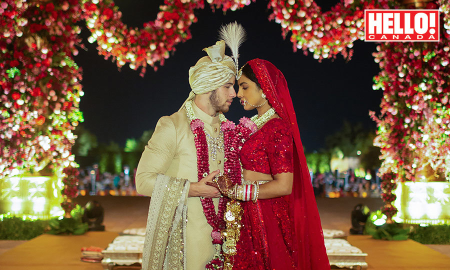 Priyanka Chopra And Nick Jonas S Hindu Wedding First Photo