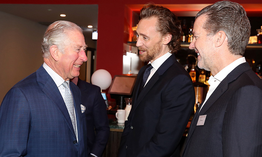"Prince Charles shared a laugh with Tom Hiddleston while visiting the British Film Institute Southbank on Dec. 6, 2018 to celebrate the royal's 40th year as its patron. The <em>Avengers</em> star revealed that the future monarch said he watched his series <em>The Night Manager</em> and enjoyed it ""very much."" Prince Charles shared memories of visiting the set of a <em>Pink Panther</em> film, saying, ""I remember they did 18 takes!"" The 70-year-old also met Selma star David Oyelowo. 