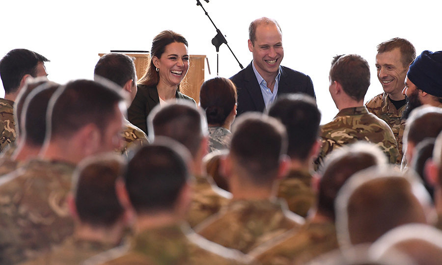 The Duke and Duchess of Cambridge touched down in Cyprus on Dec. 5th to meet with servicemen and women at RAF Akrotiri. In the spirit of the holiday season, Prince William and Kate wanted to honour those serving for their country – all of whom will sadly be missing their families during Christmas this year.