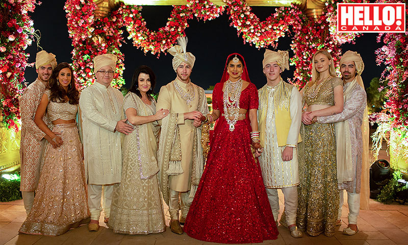 Priyanka Chopra and Nick Jonas share family wedding portraits with