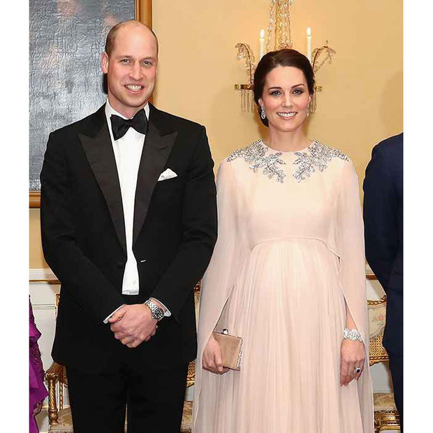 Duchess Kate was the belle of the ball while on tour in Norway, dazzling in a caped Alexander McQueen gown while enjoying a state dinner at the Royal Palace in Oslo.