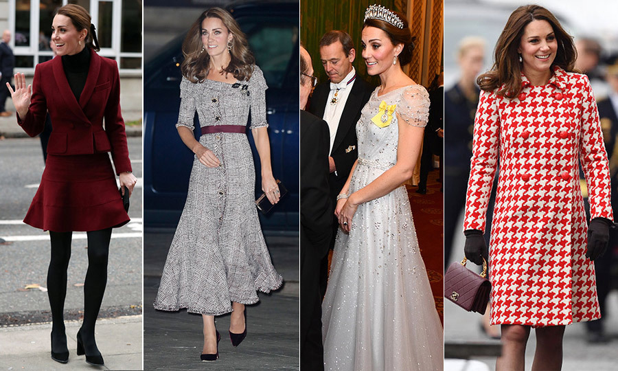 "She may be the <a href=""https://ca.hellomagazine.com/tags/0/kate-middleton""><strong>Duchess of Cambridge</strong></a>, but she is the queen of style – and she has not disappointed in 2018! From her Alexander McQueen look for Prince Louis' christening to eye-catching ensembles in Poland and Sweden and casual polo match looks, Kate is a fashion force to be reckoned with.