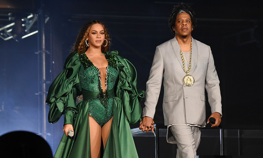 "Beyoncé and Jay-Z performed together during the ""Global Citizen Festival: Mandela 100"" at FNB Stadium on Dec. 2. 