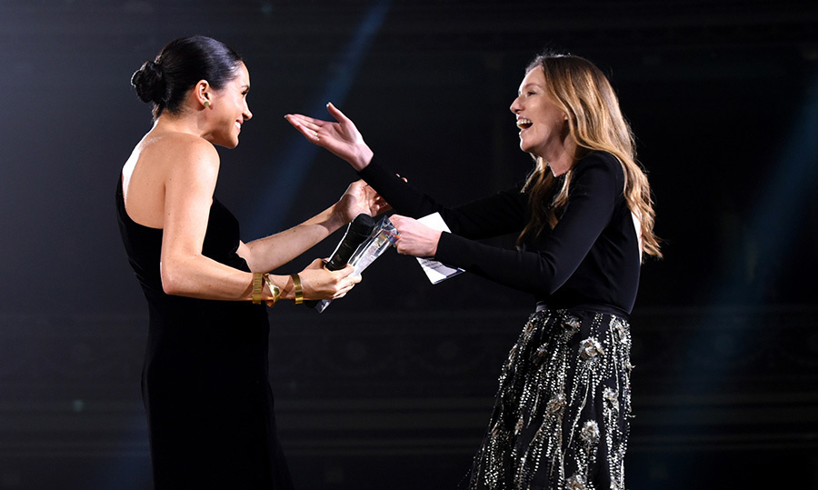 Clare Waight Keller reveals how Meghan kept her fashion awards appearance a surprise