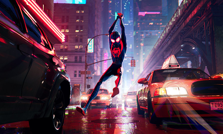 <h2>SPIDER-MAN: INTO THE SPIDER-VERSE</h2>