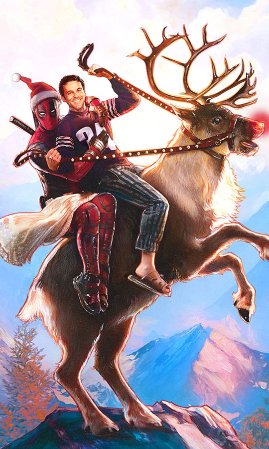<h2>ONCE UPON A DEADPOOL</h2>