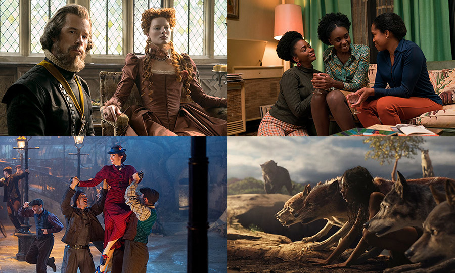 Hello! Canada raises the curtain on some of the season's most anticipated big-screen releases, from royal drama <em>Mary Queen of Scots</em> and musical <em>Mary Poppins Returns</em> to live-action adaptation <em>Mowgli</em> and <em>Moonlight</em> director Barry Jenkin's latest, <em>If Beale Street Could Talk</em>.