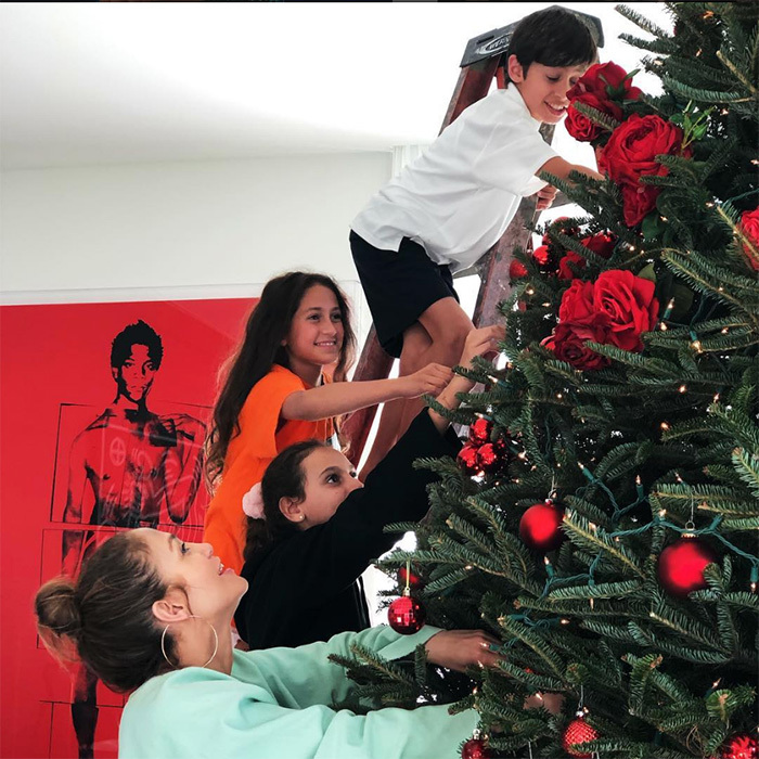 Of course, the kids had a hand in helping, too...