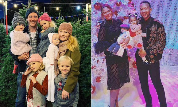 How The Stars Are Celebrating This Holiday Season Jennifer Lopez Chrissy Teigen And More