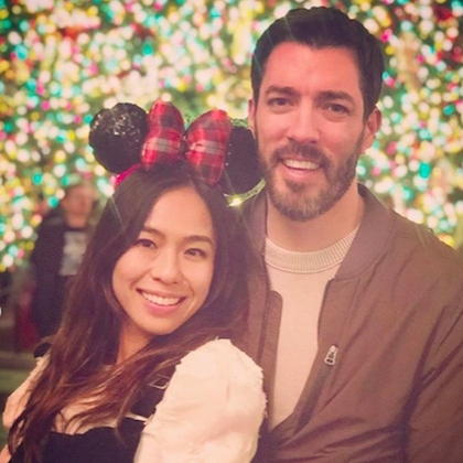 "Linda Phan and Drew Scott got festive at Disneyland! ""It was a Dole whipped, churro sugar coating lipped, Christmas carol belting magical trip,"" she wrote on Instagram.