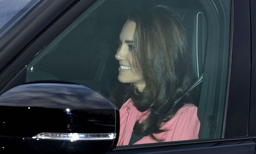 The Duchess of Cambridge was all smiles!