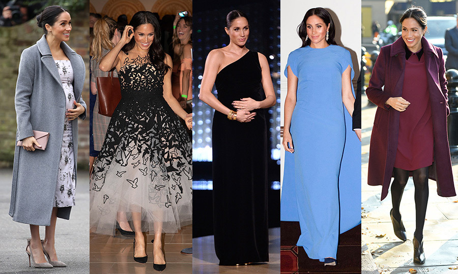 54327de97f693 Duchess Meghan's best maternity looks. 1/81. March 27, 2019. A baby Sussex  is finally on the way – and so are nine whole months of